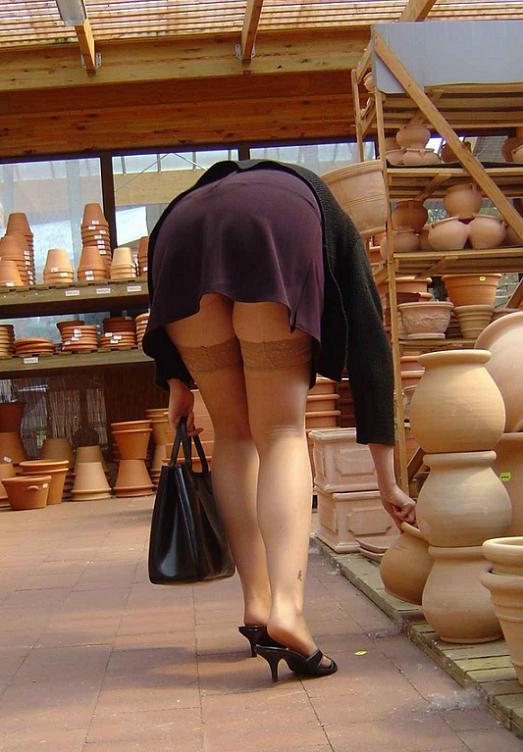 Порно видео подсмотренное в чулках