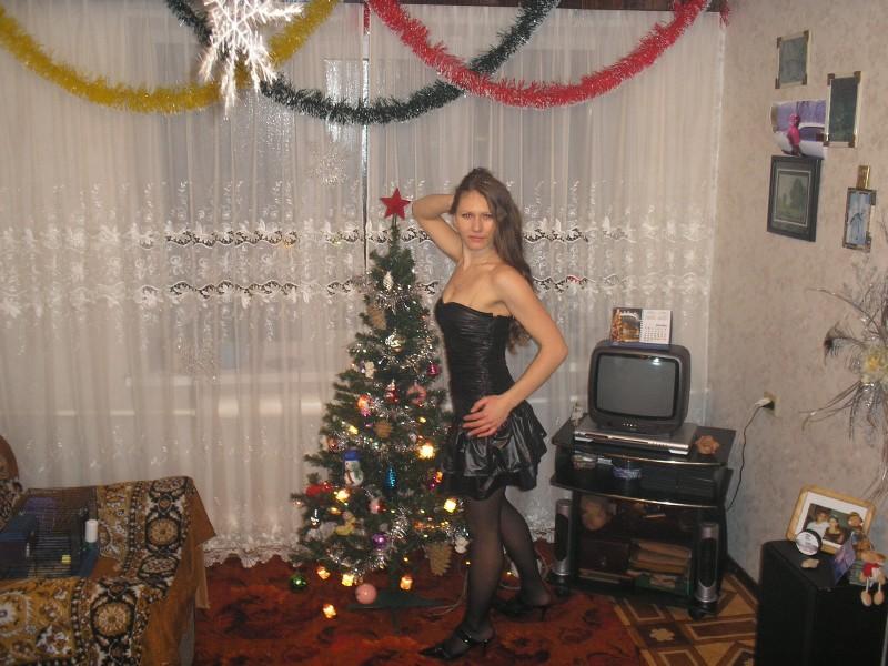 Под юбкой на Новый Год